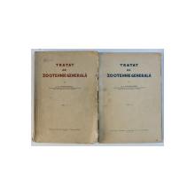 TRATAT DE ZOOTEHNIE de G.K. CONSTANTINESCU , VOLUMELE I - II , 1930 - 1938