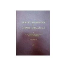 TRATAT ELEMENTAR DE CHIMIE ORGANICA,VOL.2 de CONSTANTIN D. NENITESCU,BUC.1943