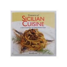 TREASURES OF SICILIAN CUISINE by LEONARDO FRUSTERI ...PAOLO SALERNO , 2008