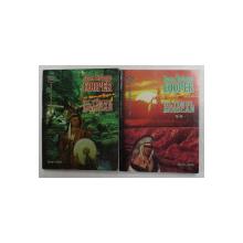 ULTIMUL MOHICAN de JAMES FENIMORE COOPER , VOLUMELE I - II , 1997