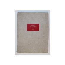 UN COUP DE DES JAMAIS N' ABOLIRA LE HASARD - POEME par STEPHANIE MALLARME , 1940, PREZINTA HALOURI DE APA  * , LIPSA COPERTE ORIGINALE