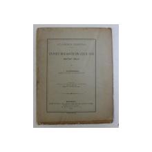 UN POET MOLDOVEAN DIN VECUL XVIII , MATEIU MILO de I. TANOVICEANU , 1898
