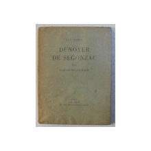 UNE FORCE DUNOYER DE SEGONZAC par CLAUDE ROGER  - MARX , 1929  , DESENE ORIGINALE , EXEMPLAR NUMEROTAT 89 DIN 175