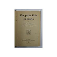UNE PETITE FILLE EN LOTERIE par CHARLES PERONNET , 1939