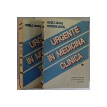 URGENTE IN MEDICINA CLINICA, VOL. I - II de VIOREL T. MOGOS, GHEORGHE MOGOS, 1992