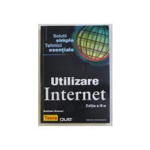 UTILIZARE INTERNET de BARBARA KASSER , 2002