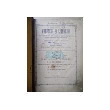UTRENIER SI LITURGIER CARI CUPRINDE CELE MAI FRUMOASE SI ALESE CANTARI ALE MAI MULTOR INSEMNATI AUTORI BISERICESTI de IOAN ZMEU  BUZEU 1892