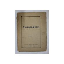 VALENII - DE - MUNTE , 1924