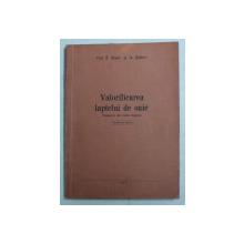 VALORIFICAREA LAPTELUI DE OAIE de N . DIMOV si IA. SALICEV , 1957