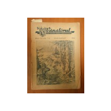 VANATORUL, REVISTA ASOCIATIEI GENERALE A VANATORULUI DIN R.P.R.  ANUL IV , NR. 7 - 8  IULIE - AUGUST 1952