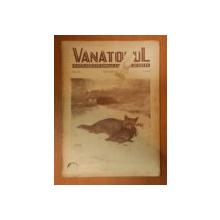 VANATORUL, REVISTA ASOCIATIEI GENERALE A VANATORULUI DIN R.P.R.  NR. 12 NOIEMBRIE 1949