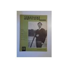 VANATORUL SI PESCARUL SPORTIV , NOIEMBRIE NR. 11 , ANUL 1965