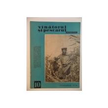 VANATORUL SI PESCARUL SPORTIV , OCTOMBRIE NR. 10 , ANUL 1964