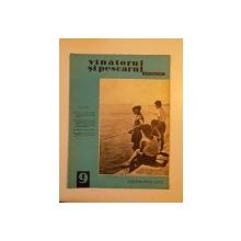 VANATORUL SI PESCARUL SPORTIV , SEPTEMBRIE NR. 9 , ANUL 1965