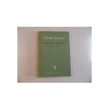VARIATIUNI SIMFONICE , PE UN CANTEC DE ANTON PANN (SASE TABLOURI DE EPOCA) de THEODOR GRIGORIU , 1965