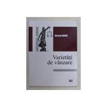 VARIETATI DE VANZARE de RAZVAN DINCA , 2016