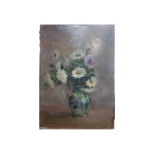 Vaza cu flori, Nesemnat