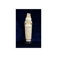Vaza decorativa din fildes