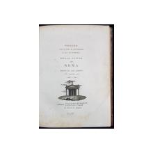Vedute Antiche E Moderne, Le Piu Interessanti Della Citta Di Roma de Etienne Piale - Roma, 1790