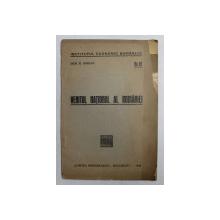 VENITUL NATIONAL AL ROMANIEI de DEM .N. IORDAN , 1930
