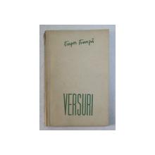 VERSURI de EUGEN FRUNZA , 1956 *SEMNATURA AUTORULUI