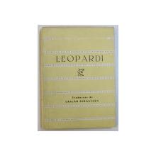 VERSURI de LEOPARDI , 1963