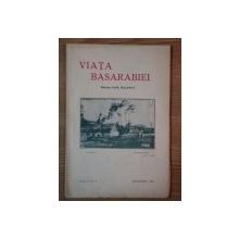 VIATA BASARABIEI-  PAN. HALIPPA , ANUL V. NR. 9, SEPTEMBRIE 1936