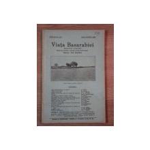 VIATA BASARABIEI, REVISTA LUNARA, ANUL III, NR.7-8 IULIE- AUGUST  1934