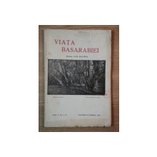 VIATA BASARABIEI, REVISTA LUNARA, ANUL V, NR. 11-12 NOIEMBRIE- DECEMBRIE 1936