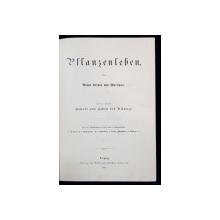 VIATA PLANTELOR de Anton Kerner von Marilaun - Leipzig, 1888