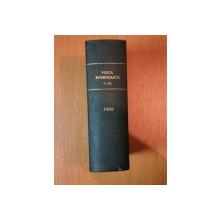 VIATA ROMANEASCA , REVISTA LITERARA SI STIINTIFICA, VOL. X - XI , ANUL III , NR. 7 - 12 , 1908 , IASI