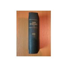 VIATA ROMANEASCA , REVISTA LITERARA SI STIINTIFICA, VOL.  XXIV - XXV  , ANUL  VII , NR. 1  - 4 , 1912 , IASI