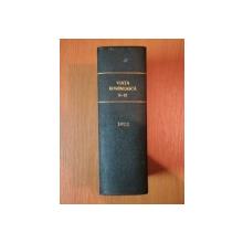 VIATA ROMANEASCA , REVISTA LITERARA SI STIINTIFICA, VOL.  XXV - XXVI - XXVII  , ANUL  VII , NR. 5 - 12 , 1912 , IASI
