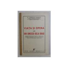 VIATA SI OPERA LUI ION IONESCU DELA  BRAD - CONFERINTA de G. IONESCU SISESTI , 1942