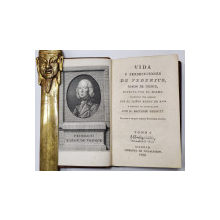 VIDA Y PERSECUCIONES DE FEDERICO, BARON DE TRENCK ESCRITA PER EL MISMO par D. BALTASAR DRUGUET, TOM I - MADRID, 1799