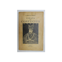 VIEATA LUI CONFUCIUS (KRONG TE) de G. SOULIE DE MORANT