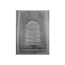 VIETILE SFINTILOR PE LUNA  APRILIE  1836