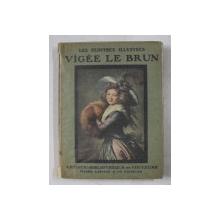 VIGEEE LE BRUN  - HUIT REPRODUCTIONS FACSIMILE EN COULEURS , EDITIE INTERBELICA