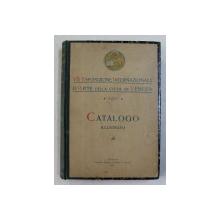 VII . ESPOSIZIONE INTERNAZIONALE D 'ARTE DELLA CITTA DI VENEZIA , CATALOGO ILLUSTRATO , 1907