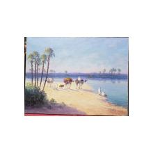 Vincent Manago (1880 - 1936) - Peisaj oriental