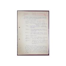 Virgil Teodorescu si Stefan Augustin Doinas - 3 file manuscris