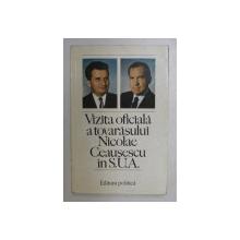 VIZITA DE LUCRU A PRESEDINTELUI NICOLAE CEAUSESCU IN S.U.A. , 4 - 7 DECEMBRIE 1973