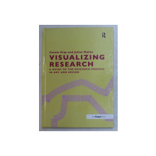 VIZUALIZING RESEARCH , A GUIDE TO THE RESEARCH PROCESS IN ART AND DESIGN by CAROLE GRAY and JULIAN MALINS , 2017