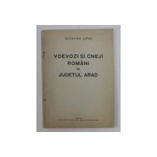 VOEVOZI SI CNEJI ROMANI IN JUDETUL ARAD de OCTAVIAN LUPAS , 1941