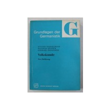 VOLKSKUNDE ( FOLCLOR )  - EINE EINFUHRUNG von GUNTER WIEGELMANN ...GERHARD HEILFURTH , 1977