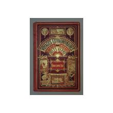 VOYAGES EXTRAORDINAIRES - NORD CONTRE SUD par JULES VERNE, EDITION HETZEL ,85 DESSINS par BENETT ET UN CARTE , 1887