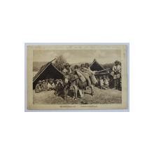 WANDERZIGEUNER  - VANDORCZIGANYOK - TIGANI NOMAZI , CARTE POSTALA ILUSTRATA , MONOCROMA , CIRCULATA , 1917