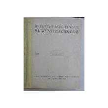 WASMUTHS MONATSHEFTE BAUKUNST & STADTEBAU , 1930