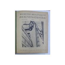 WASMUTHS MONATSHEFTE BAUKUNST & STADTEBAU , JANUAR 1932 HEFT 1 PREIS 3 RM.