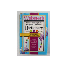 WEBSTER ' S , FRENCH / ENGLISH , ENGLISH / FRENCH DICTIONARY , 1995
